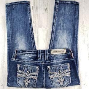 Rock Revival Celinda Easy Crop Jean's.  Size 28